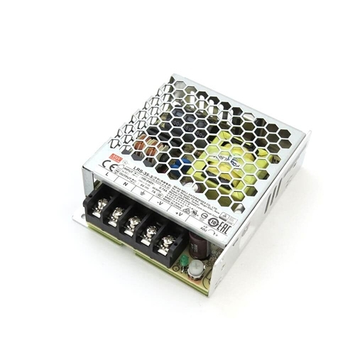 [2美國直購] denkovi 開關電源 Mean Well LRS-35-5 Single Output Switching Power Supply 5V/7A Output