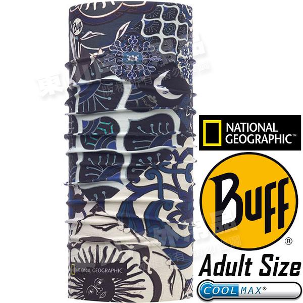 BUFF 117130.555_國家地理授權 Adult UV Protection魔術頭巾 Coolmax防臭抗菌圍巾 東山戶外