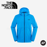 【The North Face Men's Flyweight Hoodie男款 風衣外套〈藍〉】2SLP/風衣外套/外套