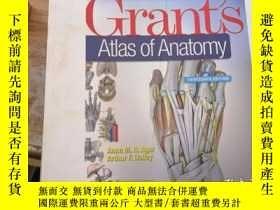 二手書博民逛書店Grants罕見Atlas of AnatomyY186637 Anne M. R. Agur and Min