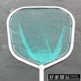 加粗大物巨物垂釣不銹鋼抄網雙圈網兜養殖海鮮餐館撈魚抄網頭抄子YTL