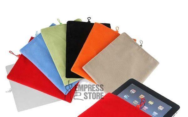 【妃凡】【買2送1】iPad2/3/4 the new iPad 超舒服絨布袋 保護套 布套 絨布袋 布袋 flyer 可用
