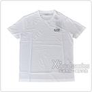 EMPORIO ARMANI EA7黑字母LOGO純棉短袖T恤(S/L/XL/白)