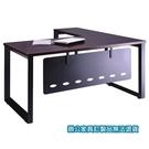 高級 辦公桌 A8B-160E 主桌 + A8B-90E 側桌 深胡桃 /組
