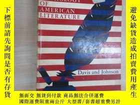 二手書博民逛書店英文書罕見AN ANTHOLOGY OF AMERICAN LITERATURE 16開 共870頁Y1596