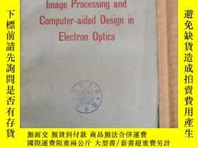 二手書博民逛書店image罕見processing and computer-aided design in electron o