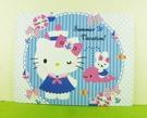 【震撼精品百貨】Hello Kitty 凱蒂貓~卡片-海軍藍