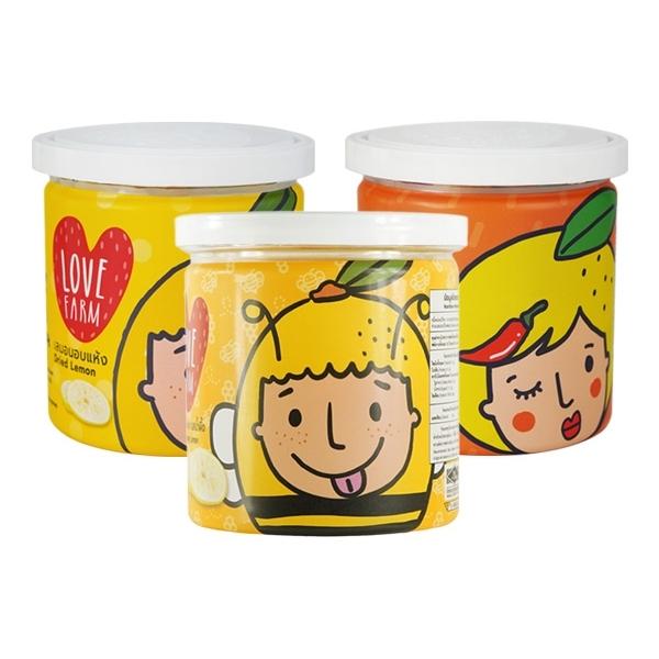 泰國 LOVE FARM~原味/辣味/蜂蜜檸檬味 檸檬乾(120g) 款式可選【小三美日】