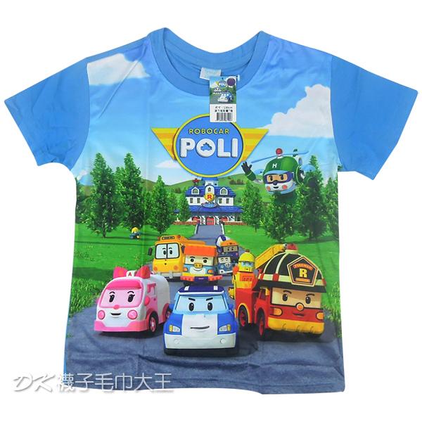 POLI 波力炫彩兒童T恤 A款 正版授權【DK大王】
