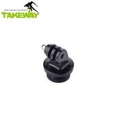 又敗家@Takeway運動攝影機用快拆板T-RC03快裝板含側向固定適T2 T1+ T1 T-B03 T-B01雲台R1 R2運動鉗