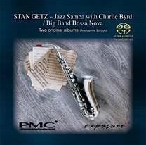 【停看聽音響唱片】【SACD】Stan Getz:Jazz Samba with Charlie Byrd/Big Band Bossa Nova