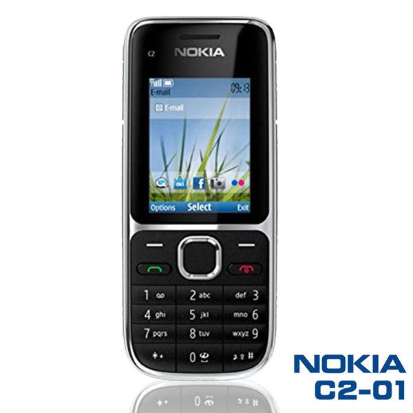 Nokia C2-01《直立機》支援3/4G,老人機,直立,滑蓋,摺疊,備用,按鍵,現貨