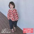 女童上衣 韓版大點點娃娃衫長袖上衣 18617164