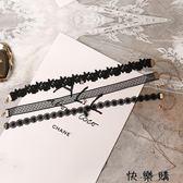 吊墜項圈復古頸鏈簡約短款脖子飾品鎖骨鏈