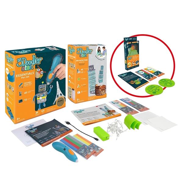 3Doodler Start 3D列印筆 - 基本組合+建築師套件 (贈隨機模板組)    玩具 公仔 模型