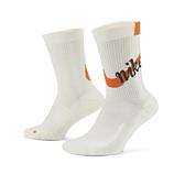 Nike U Multiplier Crew Energy 白 單雙入 排汗 慢跑 中筒襪 CV4301-134