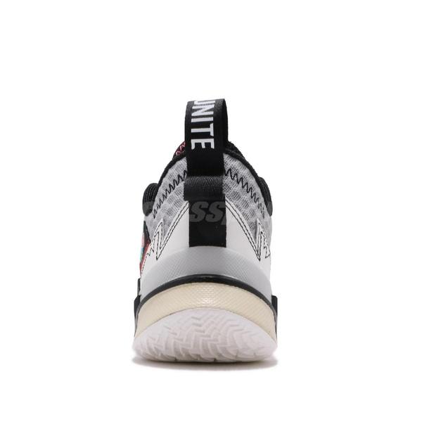 Nike Jordan Why Not Zer0.3 GS Unite 白 紅 女鞋 大童鞋 籃球鞋 喬丹 Russell Westbrook 【PUMP306】 CD5804-101