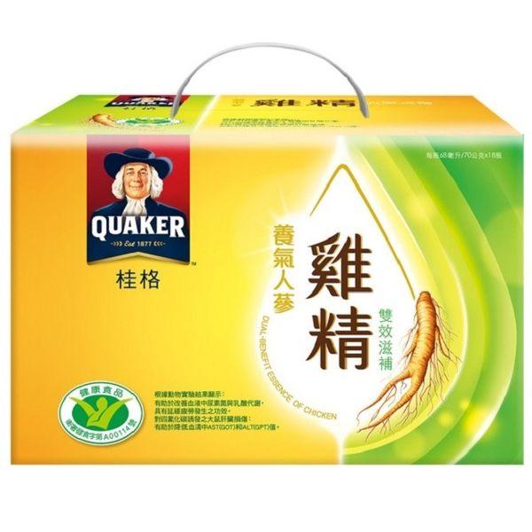 桂格養氣人蔘雞精-雙效滋補盒裝*68ml*18入