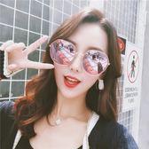 太陽眼鏡 太陽眼鏡女潮顯瘦偏光墨鏡個性 臺北日光