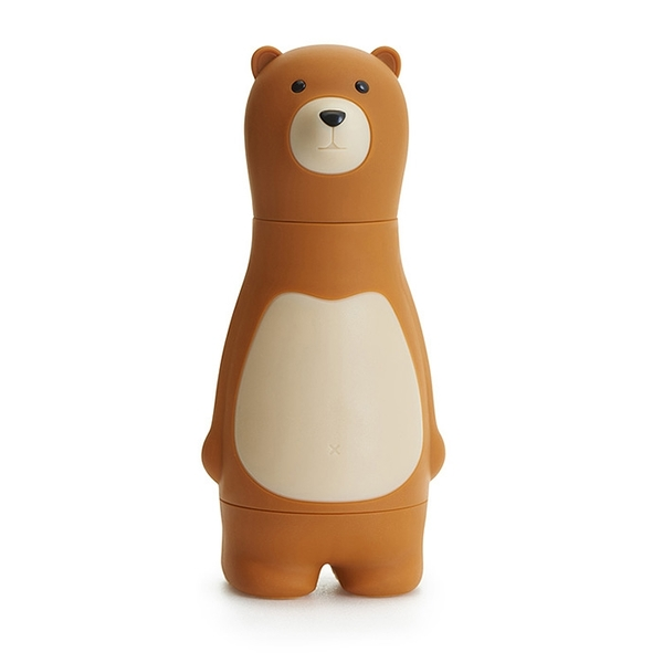 iThinking愛心進_Bear Papa寂輪螺絲起子(咖啡色)