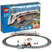 樂高城市系列 60051 高速客運列車 LEGO City 積木玩具趣味【潮男街】