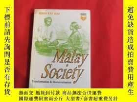 二手書博民逛書店MaIay罕見society Transformation DemocratisationY179070 Ma