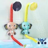 寶寶洗澡玩具套裝組合兒童戲水女孩嬰兒游泳男孩【古怪舍】