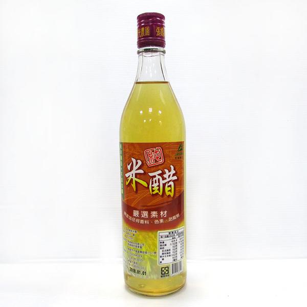 【台灣尚讚愛購購】張媽媽-純米醋 600ml