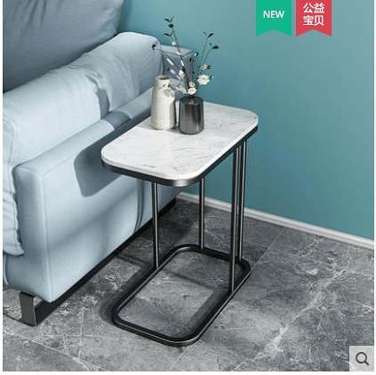 網紅茶幾 小茶幾沙發邊幾現代簡約客廳創意家用小戶型輕奢側邊櫃移動小桌子 WJ百分百