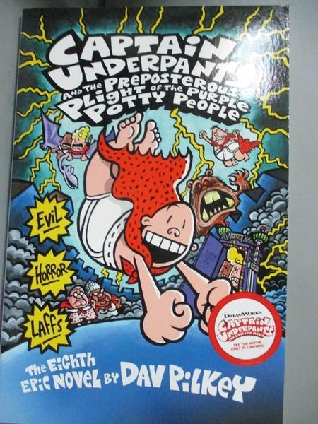 【書寶二手書T7/原文小說_KPO】Captain Underpants and the Preposterous Pl