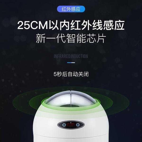 Ouben歐本創意智慧感應電動垃圾桶家用自動客廳臥室衛生間NMS【蘿莉新品】