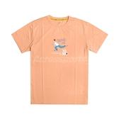 Asics 短袖T恤 JSY Graphic SS T 2 橘 白 男款 櫻花 塗鴉 亞瑟士 運動休閒 【ACS】 2191A254802