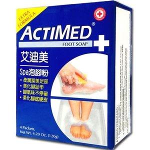 【足部保養】ACTIMED艾迪美spa泡腳粉(30g*4)/盒*6