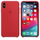 Apple iPhone XS Max 原廠矽膠護套 iPhone XS Max 原廠保護殼【紅色】 美國水貨 原廠盒裝