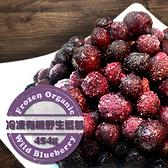 【天時莓果 】 新鮮 冷凍 有機野生藍莓 454g/包