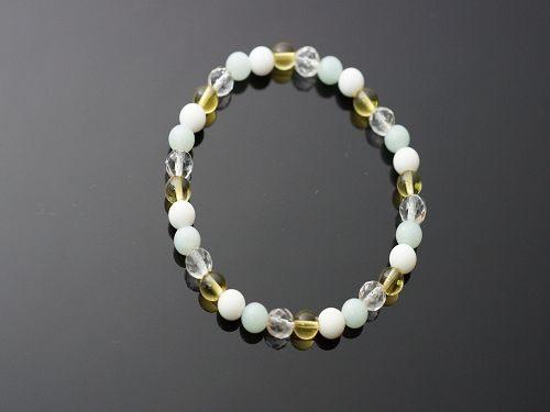 天河石&黃水晶&白水晶:讓你意識覺醒,激發出內在潛能,引導所有事物開始,順利發展。