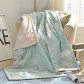 〔涼夏特惠〕義大利La Belle《清秀佳人》純棉吸濕透氣涼被(5x6.5尺)