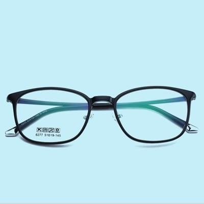 鏡框(方框)-簡約百搭時尚輕盈男女平光眼鏡6色73oe23[巴黎精品]