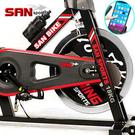 飛輪健身車│黑爵士18KG飛輪車.室內腳踏車自行車訓練台.健身器材哪裡買專賣店SAN SPORTS特賣會