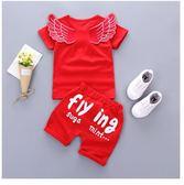 夏裝童裝套裝0嬰幼兒童2純棉1-3童寶寶