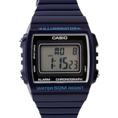 CASIO卡西歐 質感深藍色方型設計休閒運動腕錶 保固 50米防水【NE1863】原廠公司貨