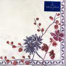 普羅旺斯紫丁香(V&B聯名款)(奶油底)-德國 IHR 餐巾紙(33x33cm)