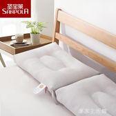 圣寶萊大豆纖維定型枕 學生單人低矮枕芯 成人柔軟薄枕頭 一對  -享家生活館
