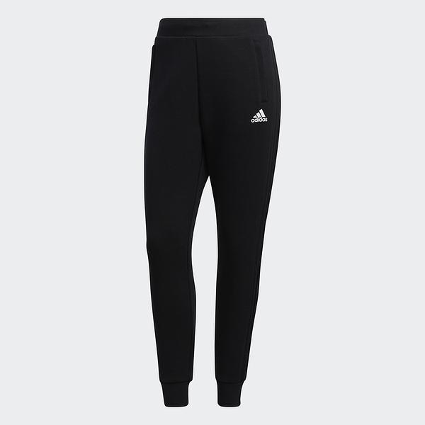 Adidas MUST HAVES DK 女裝 長褲 慢跑 休閒 拉鍊口袋 縮口 棉質 黑【運動世界】GM1443