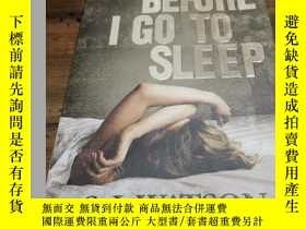 二手書博民逛書店before罕見i go to sleepY271632 s.j