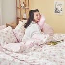 床包 / 雙人加大【花花格格】含兩件枕套 100%精梳棉 戀家小舖台灣製AAS301