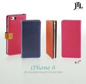 [富廉網] JTL iPhone 6 (4.7吋) 古著側掀式真皮皮套經典款