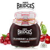 【MRS. BRIDGES】英橋夫人蔓越莓櫻桃果醬 (大)340g 交換禮物首選