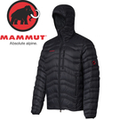 【MAMMUT 男 Broad Peak IN H連帽羽絨外套《黑》】1010-18460/羽絨衣