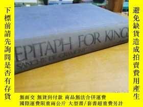 二手書博民逛書店英文原版:Epitaph罕見for KingsY367822 BY THE SAME AUTHOR 略 出版